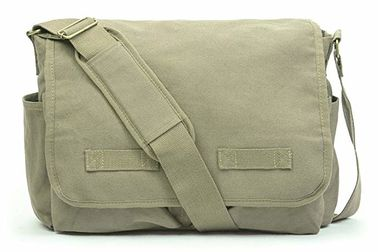 Outdoor Military Tactical Sling Bag, Vintage Military Canvas Bag Przestronna pojemność